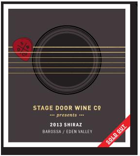 Stage Door Wine Co - 2013 Shiraz Barossa Valley
