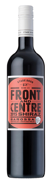 2015 Shiraz - Poster Series - Stage Door Wine Co