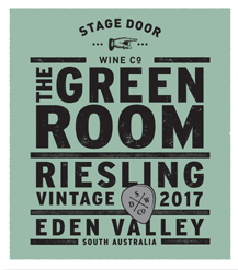 The Green Room Riesling 2017 Poster Series - Stage Door Wine Co