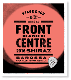 Stage Door Front & Centre Shiraz 2016