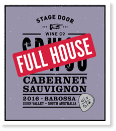 Stage Door Full House Cabernet Sauvignon 2016