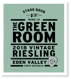 Stage Door The Green Room Riesling 2018
