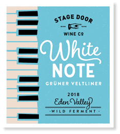 Stage Door White Note Gruner Veltliner 2018