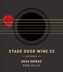 Stage Door Wine Co 2016 Headliner Shiraz